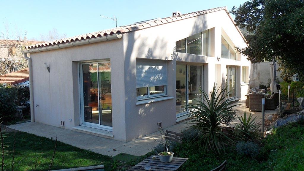 Construction d'une villa à Marseille