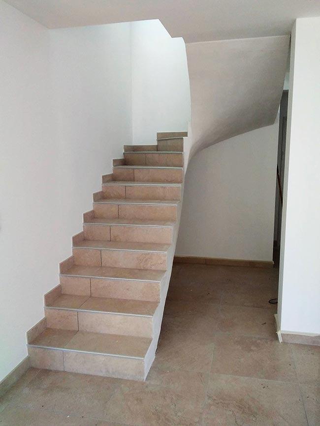 Création d'un escalier tournant