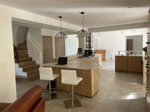 Rénovation d'une villa à Saint Cannat